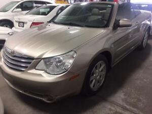 2008 CHRYSLER SEBRING TOURING/ACCIDENT FREE/LEATHER/CONVERTIBLE