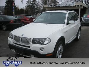 2008 BMW X3 AWD 3.0SI LOW KM! BEAUTIFUL SUV!