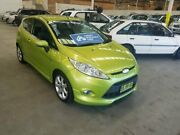 2009 Ford Fiesta WS Zetec Green 5 Speed Manual Hatchback Cardiff Lake Macquarie Area Preview