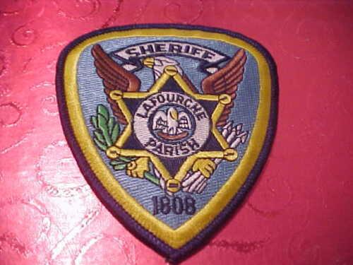 LAFOURCHE LOUISIANA POLICE PATCH SHOULDER SIZE UNUSED