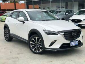 2019 Mazda CX-3 DK2W7A Akari SKYACTIV-Drive FWD White 6 Speed Sports Automatic Wagon Palmyra Melville Area Preview