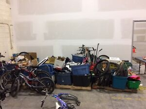 ISO industrial shelving for bike parts