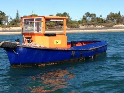 EX WORKBOAT 9 MTR - NOT IN SURVEY Fremantle Fremantle Area Preview