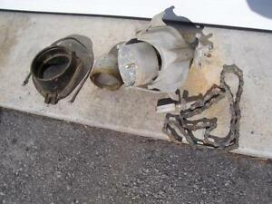 Système de perçage de trous dans tuyauterie d'égout ou autre
