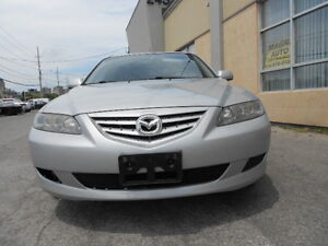 2006 Mazda 6S, Auto; No Accident; CERTIFIED & E-