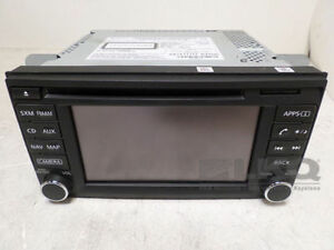 2014 Nissan Sentra AM FM CD Player Radio & GPS Navigation