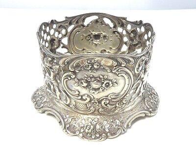 Serviettenhalter napkin holder 800 SILBER silver plata servilletero argent prata