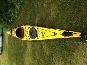 18 ' Kevlar Stratus from current design    Super fast kayak!