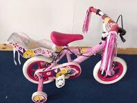 "Silverfox Pixie 12"" BMX Girls Bike. BRAND NEW!!!"