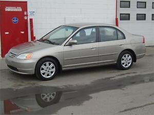2003 Honda Civic Sdn LX -- LOW LOW KM -- $4900