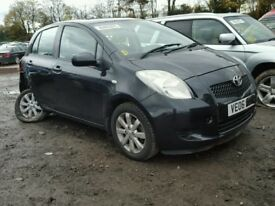 TOYOTA YARIS 2006 ONWARDS 5 DOOR BREAKING FOR PARTS SPARES TEL 07814971951