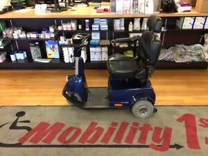 Used Fortress 1700 TA 3 Wheel Scooter In Great Condition
