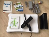 Nintendo Wii Console and Fit package