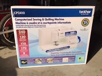 BNIB SEWING MACHINE BRAND NEW RETAILS FOR over 400