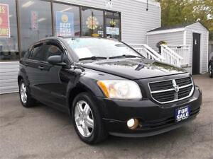 2007 DODGE CALIBER SXT * SUNROOF * LEATHER * HEATED SEATS *