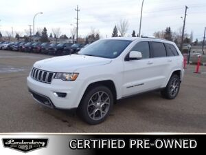2018 Jeep Grand Cherokee 4WD STERLING Accident Free,  Leather,