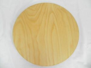 round circular wooden chopping board cutting serving pizza solid wood 50cm ebay. Black Bedroom Furniture Sets. Home Design Ideas
