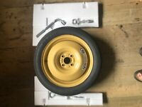 Suzuki Swift Wheel with Carpet Cover, Tools, Clamp, Wheel Spanner & Tow Bar