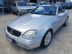 1998 Mercedes-Benz SLK230 Kompressor Silver 5 Speed Automatic Convertible Wangara Wanneroo Area Preview