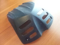 Stock KLR650 Skid Plate, Fits KLRs From 2008
