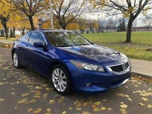 2008 HONDA ACCORD , EXL ,COUPE , AUTOMATIQUE ,SIEGES CUIR , TOT