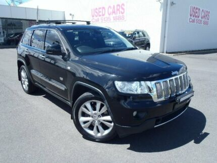 2011 Jeep Grand Cherokee WH MY08 Laredo (4x4) Black 5 Speed Sports Automatic Wagon