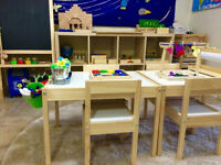 Organic/French Home Daycare - Classroom Set Up!