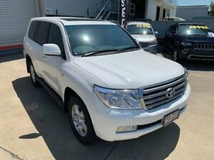 2009 Toyota Landcruiser UZJ200R 09 Upgrade VX (4x4) White 5 Speed Automatic Wagon Hendra Brisbane North East Preview