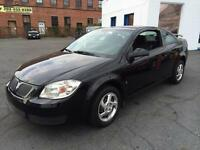 2007 PONTIAC  G5  AUTOMATIC BLACK ON BLACK