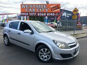 2006 Holden Astra AH MY06 CD Silver 4 Speed Automatic Hatchback Laverton Wyndham Area Preview