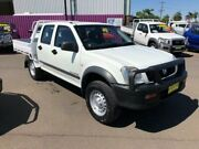 2006 Holden Rodeo RA MY06 Upgrade LX (4x4) White 5 Speed Manual Crew Cab Pickup Dubbo Dubbo Area Preview