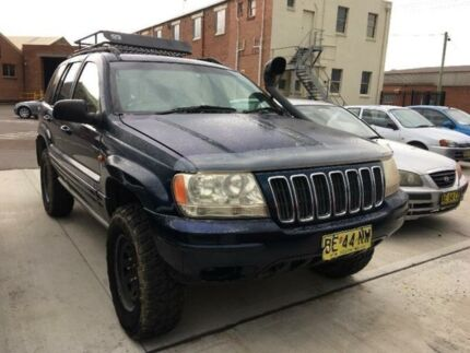2001 Jeep Grand Cherokee WJ Blue Automatic Wagon