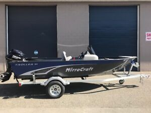 2018 Mirrocraft Troller 165SC Package