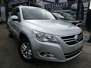2010 Volkswagen Tiguan 5N MY10 125TSI 4MOTION Silver 6 Speed Automatic Wagon Clyde Parramatta Area Preview