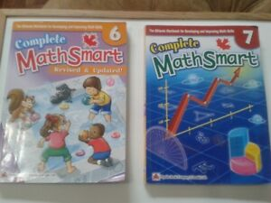 COMPLETE Grade 6 & Grade 7 Math Smart Workbooks