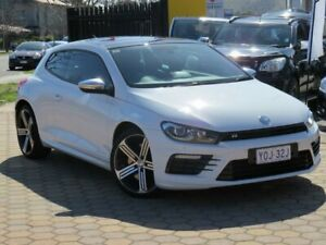 2016 Volkswagen Scirocco 1S MY16 R White 6 Speed Direct Shift Coupe Greenway Tuggeranong Preview
