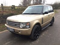 2004 Range Rover Vogue TD6 Automatic Turbo diesel 4x4 PART EX CONSIDERED