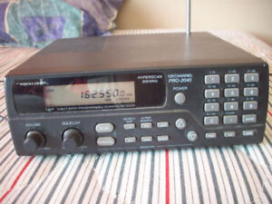 REALISTIC 100 CH BASE SCANNER 800 MHZ