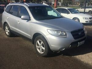 2006 Hyundai Santa Fe CM (4x4) Silver 4 Speed Automatic Wagon Woodville Park Charles Sturt Area Preview