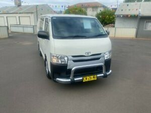 2018 Toyota HiAce KDH201R Crewvan LWB French Vanilla 4 Speed Automatic Van Wagon Young Young Area Preview
