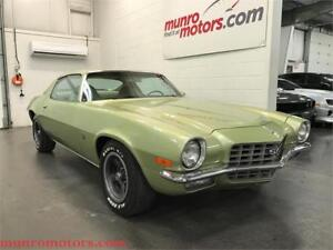 1972 Chevrolet Camaro Real SS Coupe L48 350 Automatic