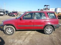 1997 Honda CRV AWD good condition safety and e-tested
