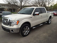 2009 Ford F-150 Lariat Supercrew 4X4 Pearl White