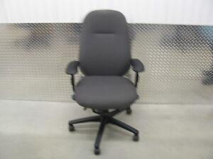 Chaise de bureau ajustable ergonomique 5 pattes  Grise