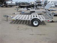 CLEARANCE 5X8' ALUMINUM GOLF CART UTILITY TRAILER