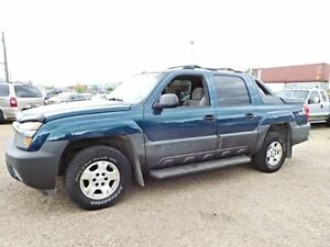 2005 Chevrolet AVALANCHE 4WD CREWCAB For Sale Edmonton