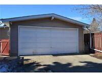 Safe and secure oversized double garage - University Area