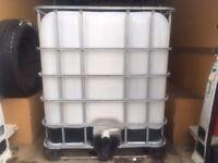 IBC 100lt storage tank