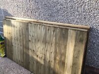 New Fence Panels 6 Foot x 3 3 Foot