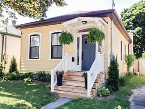 Renovated Century Old Ontario Cottage in Old East Village